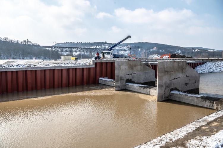 В Севастополе готовят к запуску водозабор на реке Бельбек
