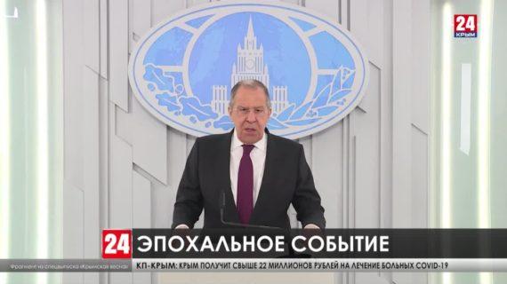 Крымчан и севастопольцев поздравили с годовщиной референдума в эфире специального выпуска «Крымская весна»