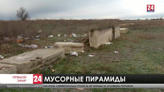 Несознательность горожан или бездействие коммунальщиков? Почему на Севере Крыма увеличилось число стихийных свалок?