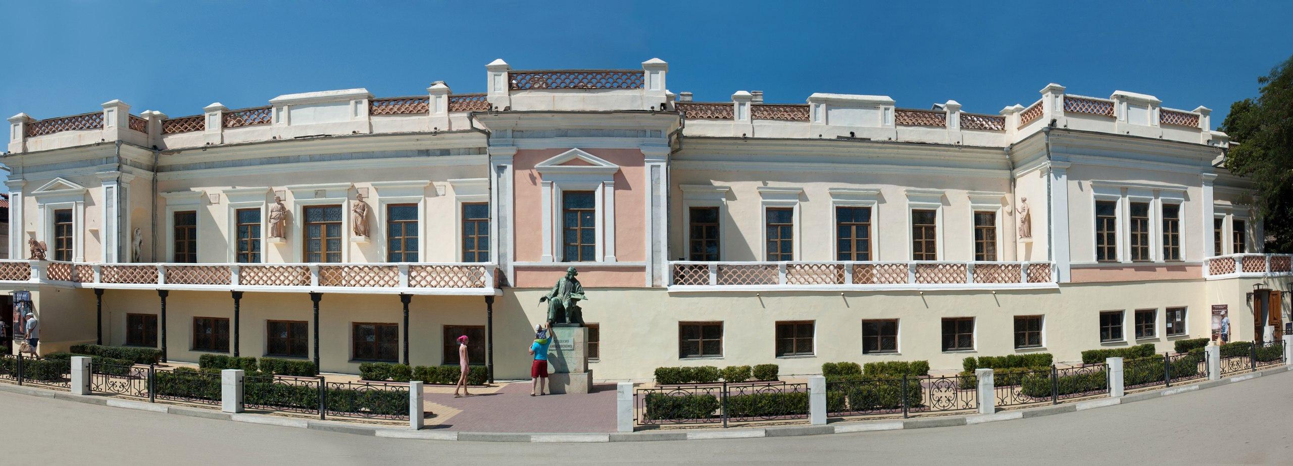 В Феодосии на год закрывается картинная галерея имени Айвазовского