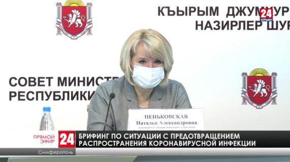Брифинг по ситуации с предотвращением распространения новой коронавирусной инфекции. 14.04.21