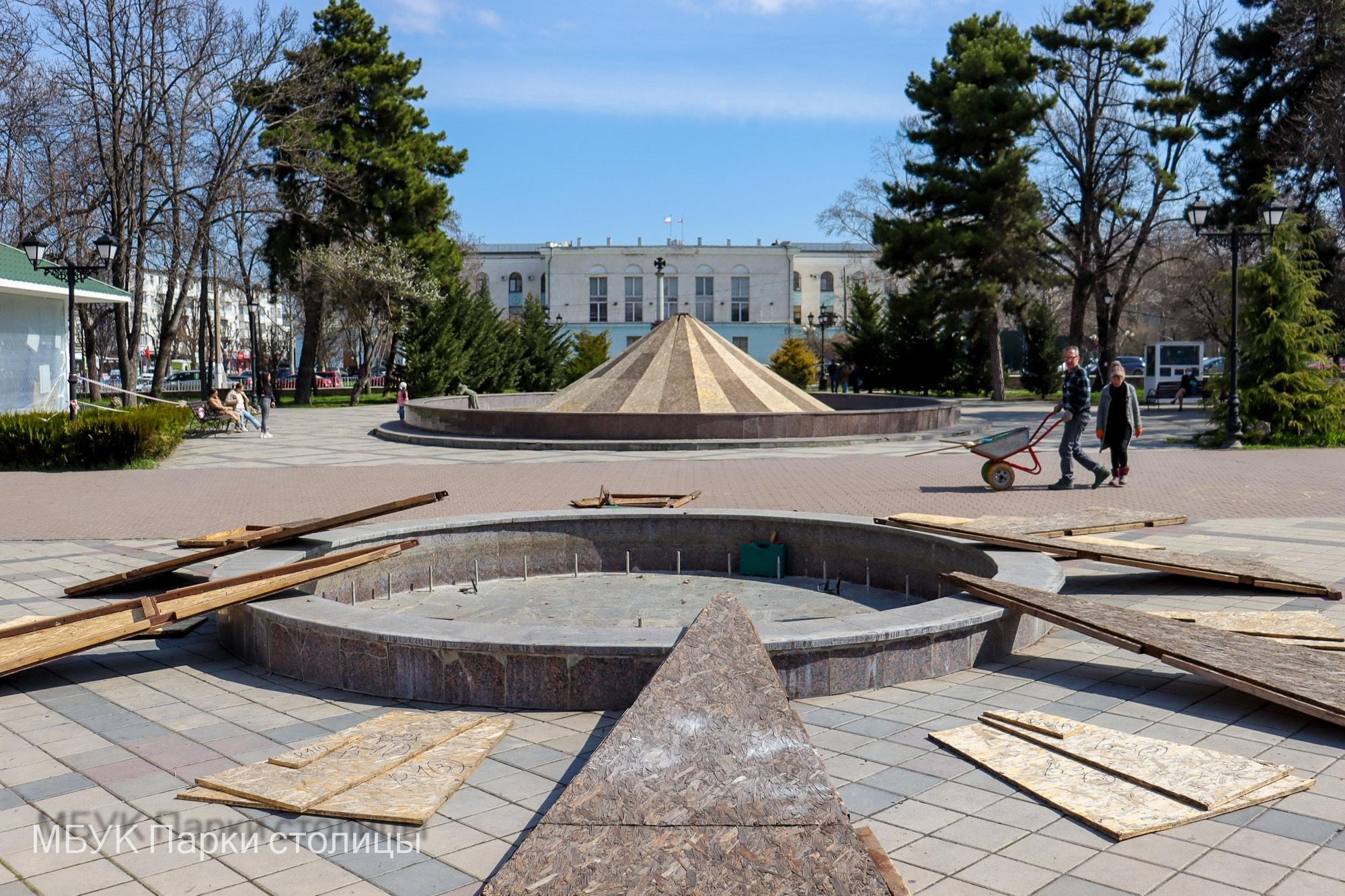 В Симферополе расконсервируют фонтаны в ближайшие две недели