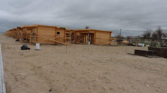 Строительство на пляже в селе Витино остановили
