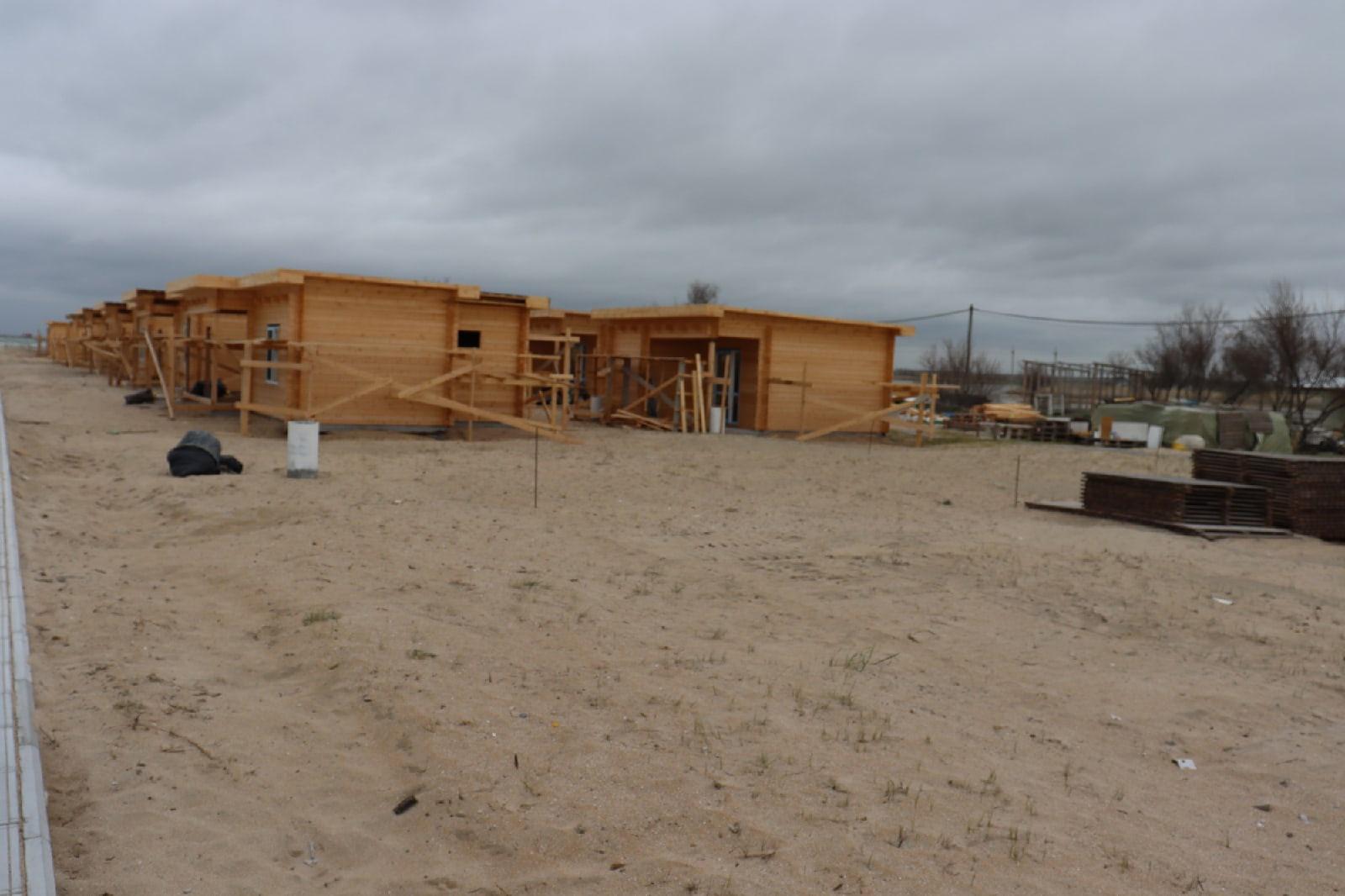 Считают ущерб: В Витино, где проходила застройка пляжа, работают правоохранительные органы