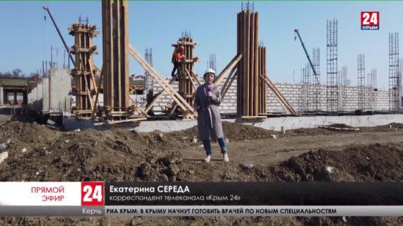 В центре Керчи построят дорогу к новой школе