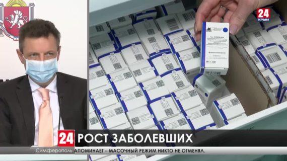 Вакцинация продолжается. В Крыму от коронавируса привились почти 78 тысяч человек