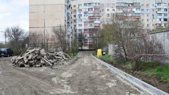 На благоустройство 17 дворов в Симферополе выделили 300 миллионов рублей