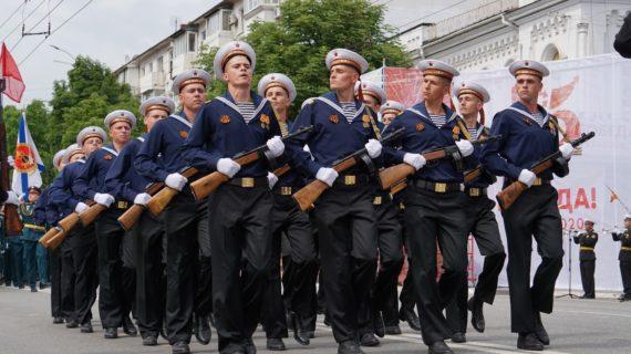 Парад Победы в Симферополе 9 мая 2021 года: прямая онлайн-трансляция, видео, фото