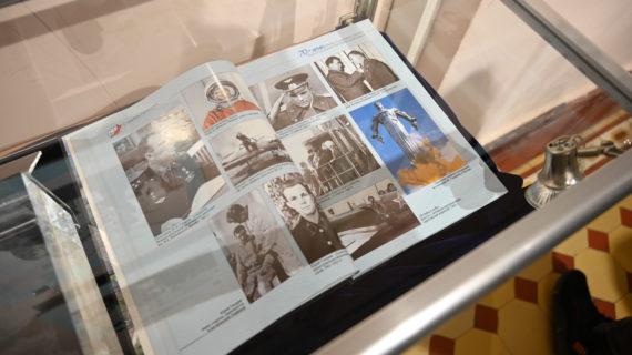 В Симферополе открыли фотовыставку, посвящённую Юрию Гагарину