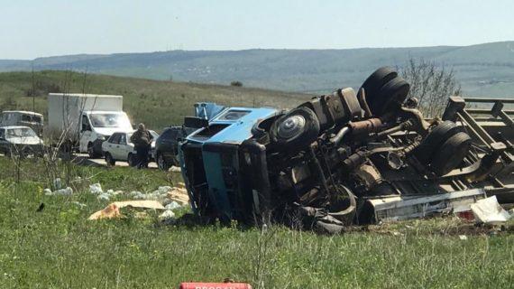 Сотрудники МВД проводят проверку по факту ДТП под Феодосией, в котором погиб водитель