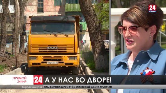 Как в Кировском районе благоустраивают дворовые территории?