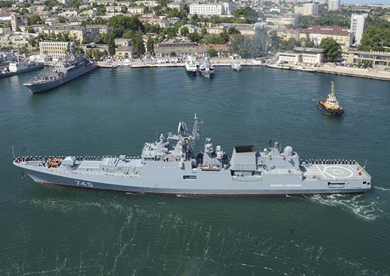 На Черноморском флоте началась проверка с отработкой наступления и обороны