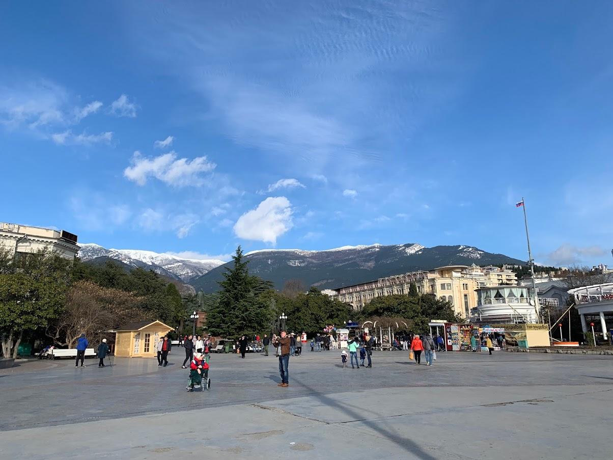 Ялта рассчитывает принять максимальное количество туристов в этом году