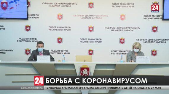 Уровень заболеваемости коронавирусом в Крыму вырос почти в два раза