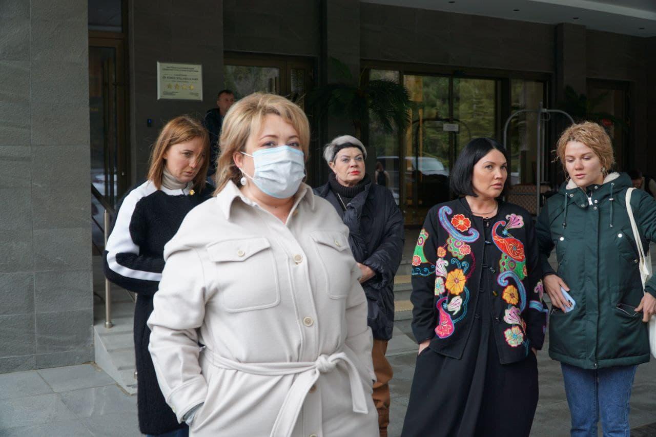 Комиссия Совета министров РК повторно выехала в Форосский парк