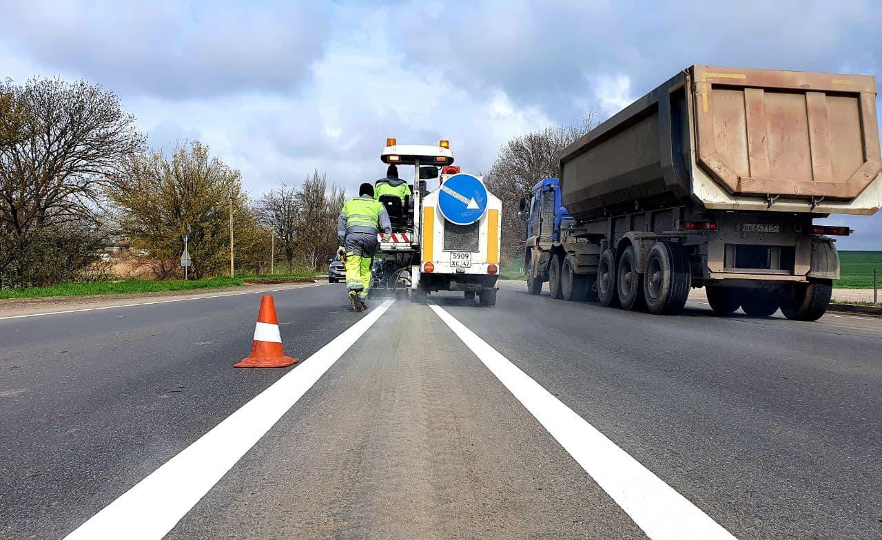 Возле сёл Скворцово и Родниково отремонтировали дорогу