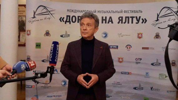 Итальянский певец Пупо: «Россия всегда была в Крыму, люди здесь выбрали Россию»