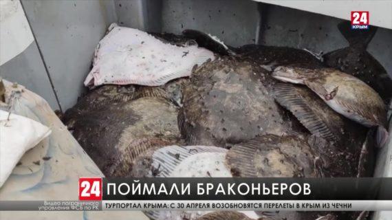 Российские пограничники задержали у берегов Крыма украинское судно за незаконную добычу рыбы
