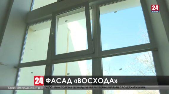 Более 80 многоэтажных домов отремонтировали в Красногвардейском районе