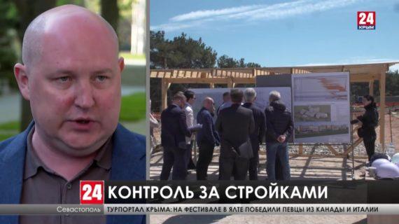 Вице-премьер Правительства России Марат Хуснуллин посетил главные стройки Севастополя
