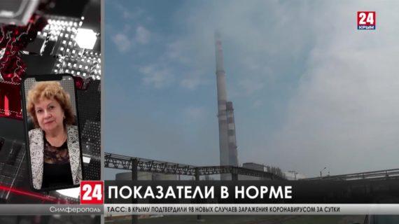 Поводов для паники – нет! Информация о загрязнении воздуха на Севере Крыма - фейк