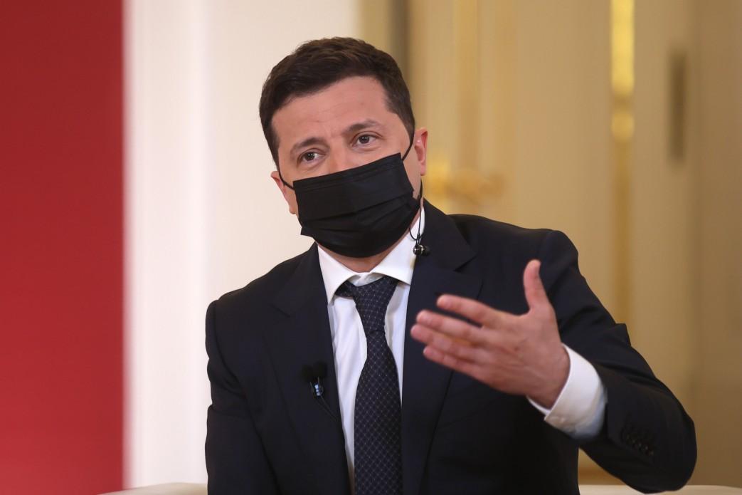 "Зеленский заявил о ""войне"" в Европе из-за Крыма"