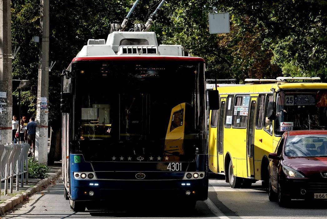 Расписание троллейбусов Симферополь - Алушта - Ялта