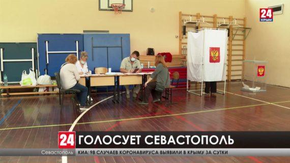 В Севастополе за нарушения отстранили одного кандидата