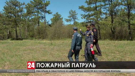 Крымские спасатели проверяют, как жители полуострова соблюдают противопожарные правила