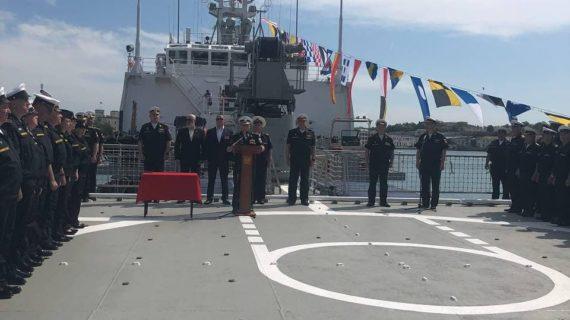 В состав Черноморского флота приняли новейший малый морской танкер