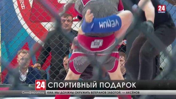В честь Дня Победы финалисты первенства России по смешанным единоборствам преподнесли ветеранам спортивный подарок