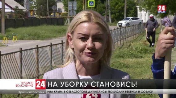 Десятки жителей северного Крыма присоединились к акции «Чистый Крым»