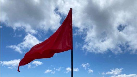 На вершине Ай-Петри спасатели подняли Знамя Победы