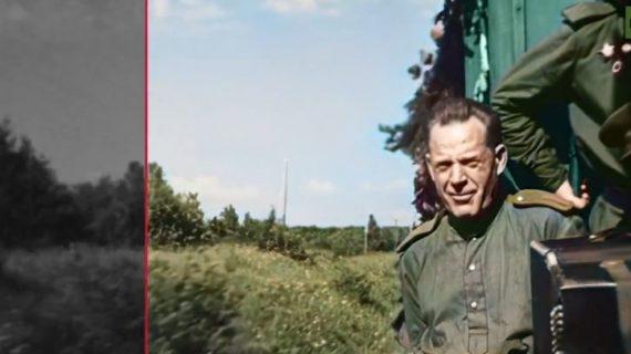 Ожившая плёнка: Опубликованы эксклюзивные цветные кадры времён Второй мировой войны