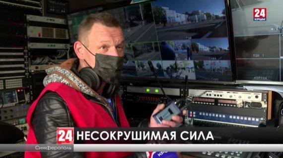 Гости и жители крымской столицы смогли увидеть технику современной российской армии