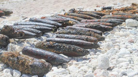 В Севастополе спасатели нашли более 200 боеприпасов времён войны