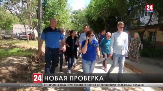 Глава Крыма провёл очередной рейд по Симферополю