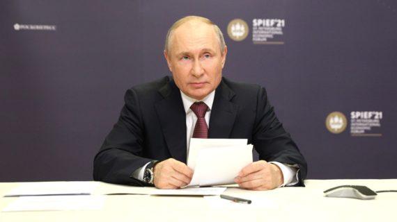Путин: Успешное развитие регионов и России в целом во многом зависит от современной транспортной инфраструктуры