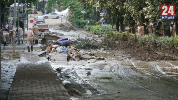 Из Ялты за два месяца после потопа вывезено свыше 110 тысяч тонн грунта