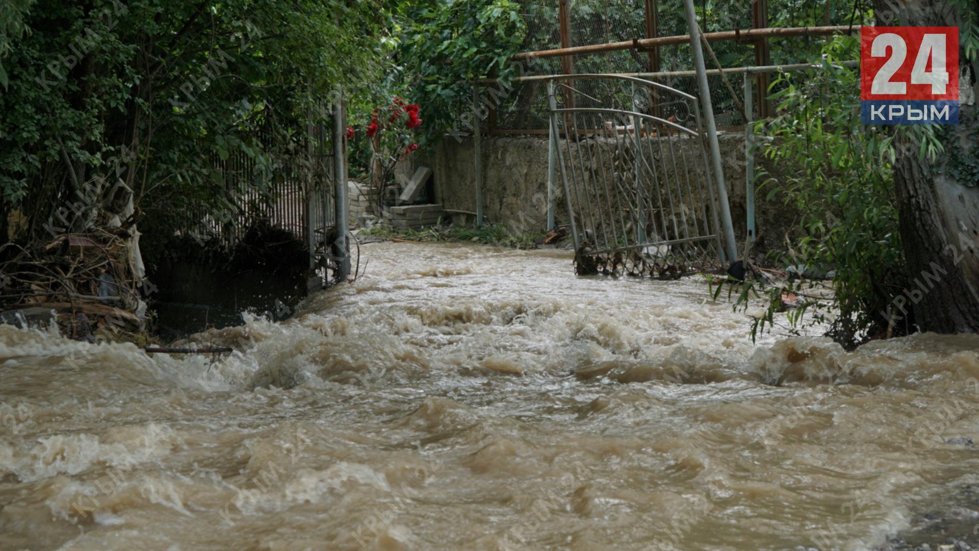 В Ялте на улице Вергасова устранили последствия потопа, - Павленко