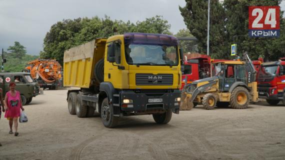 До конца недели в Керчи устранят все последствия наводнения