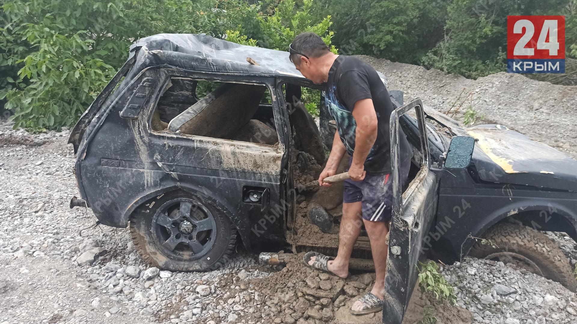 В Крыму 133   пострадавших из-за ЧС получили выплаты