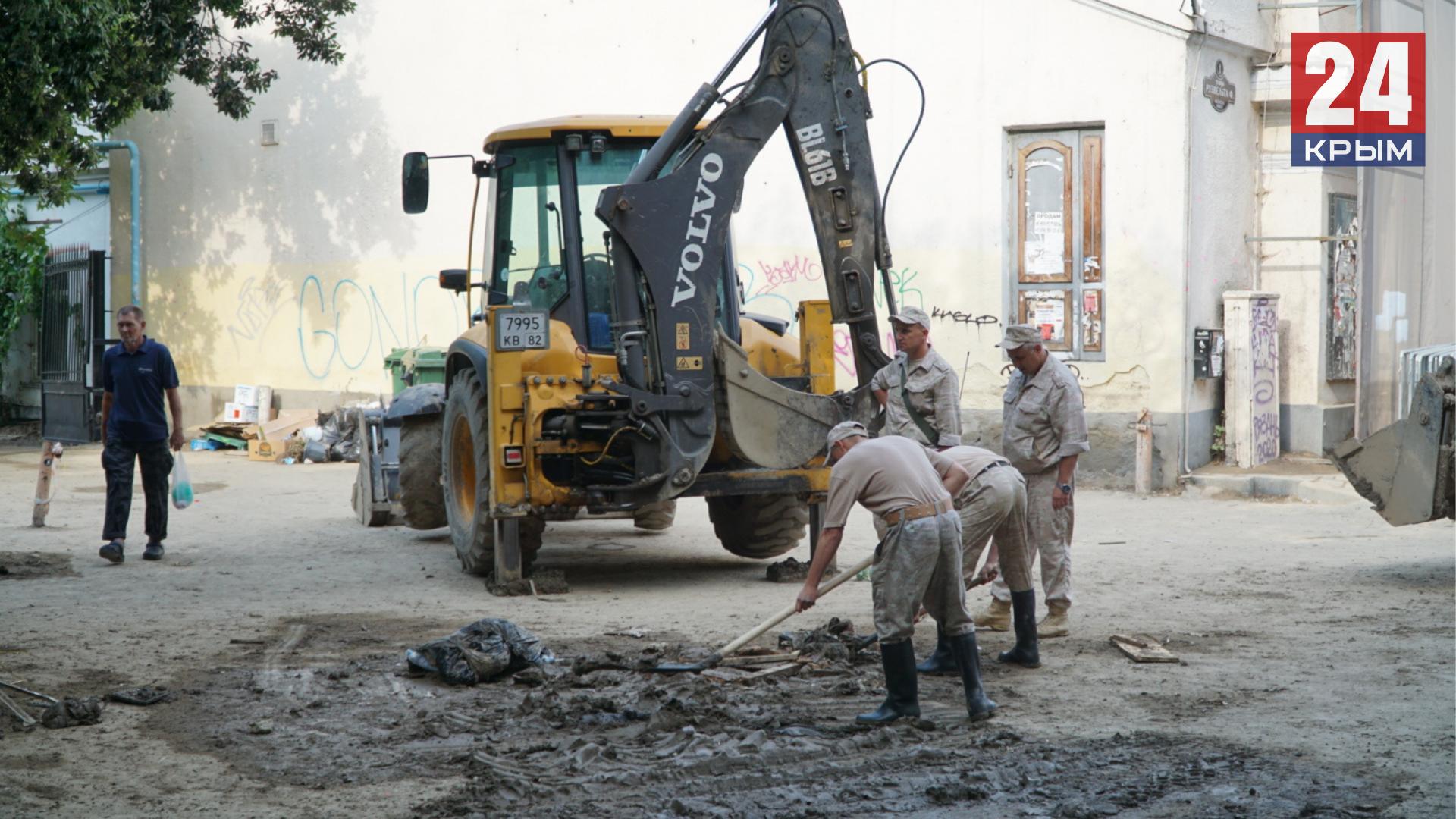 Военные до 24 июня очистят Ялту и Керчь, пострадавших от потопа