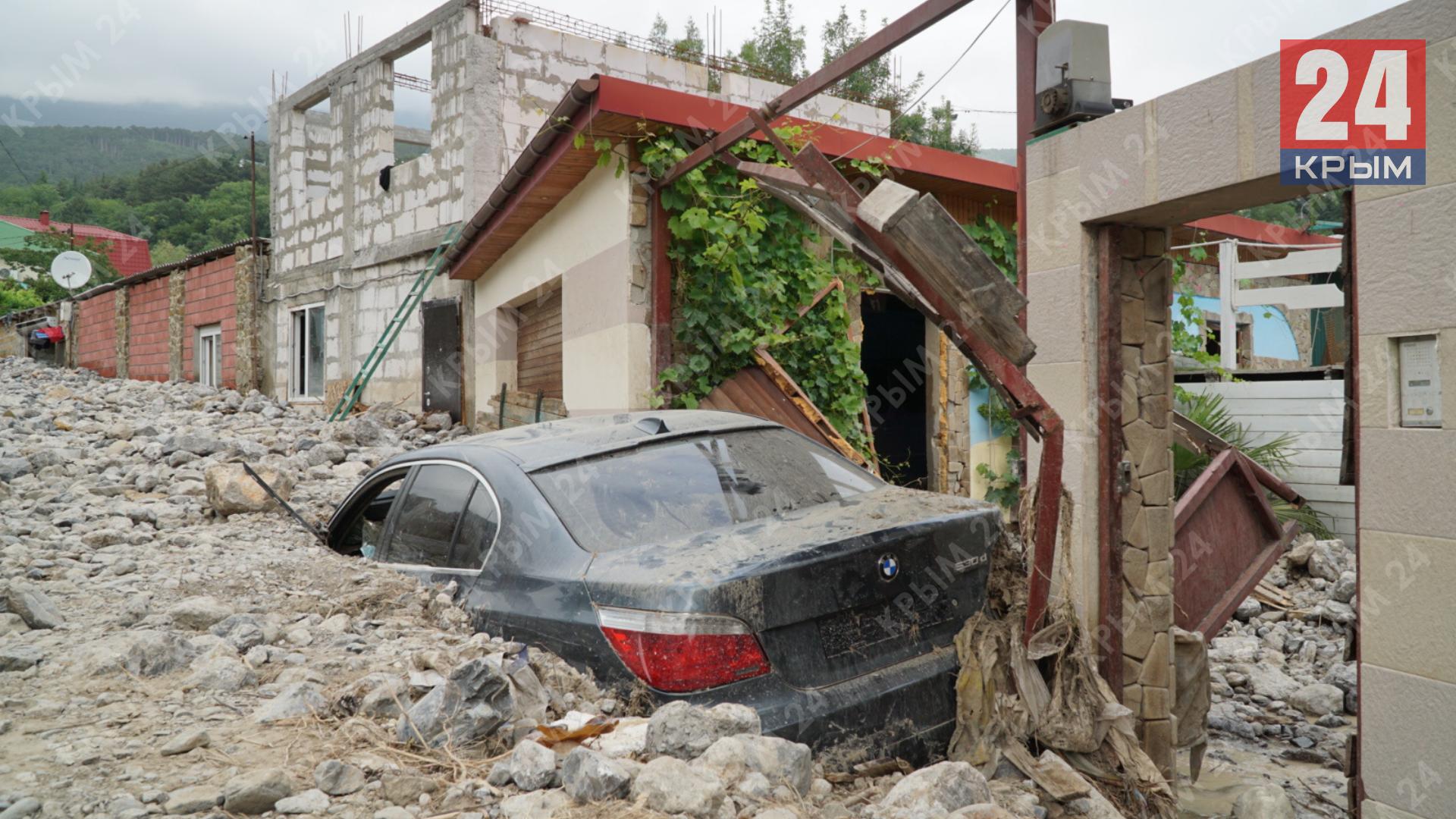 Крым может первым стать регионом, где разработают законодательную базу по компенсации ущерба за утраченные во время ЧС автомобили