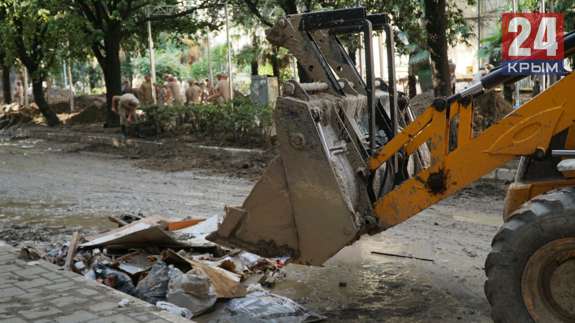В Ялту прибудет ещё 300 человек и 34 единиц спецтехники для уборки города