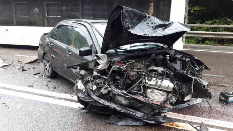 Крымская полиция проводит проверку по факту крупной аварии на трассе Симферополь – Алушта