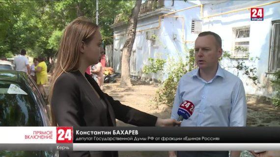 В Керчи оценивают имущество людей, пострадавшее от наводнения
