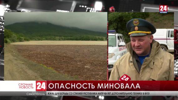Под угрозой затопления оказались частные дома в сёлах возле Севастополя