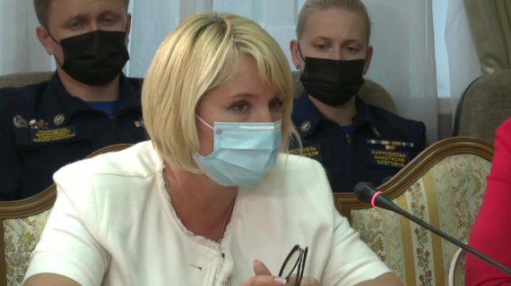 Наталья Пеньковская прокомментировала слухи о наличии холерного вибриона в ялтинской воде