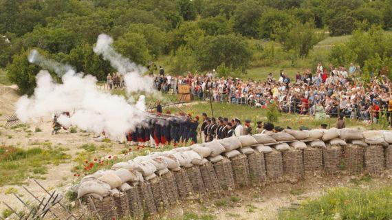 В Севастополе прошёл военно-исторический фестиваль «Первый штурм». Фоторепортаж